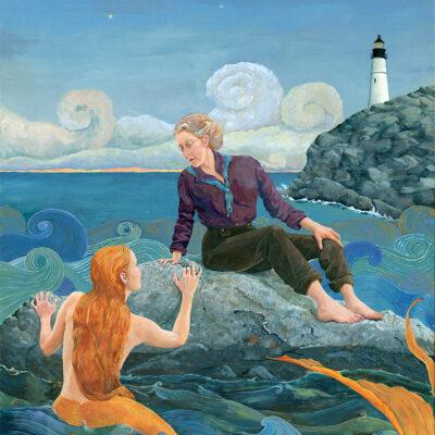 """Maine Mermaid Print """"Mermaid Memories"""""""